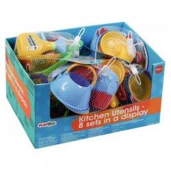 Playgo rinkinys žaislinių virtuvės indų 24mėn.+