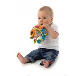 Lavinamasis kamuolys-barškutis Žaisk ir mokykis