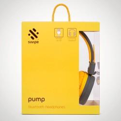 Pump Bluetooth ausinės geltonos SW-04FREEY