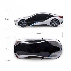 Automodelis valdomas BMW I8 1:24