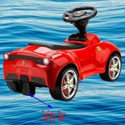 Mašinėlė paspirtukas Ferrari