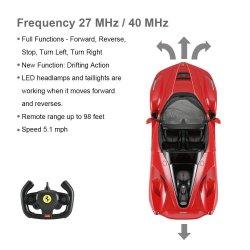 Rc 1:14 automodelis valdomas Ferrari LaFerrari Aperta