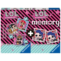 Dėlionės ir atminties žaidimas LOL