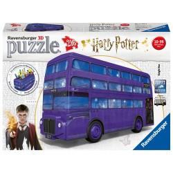 3d dėlionė Harry Potter Knight Bus 216d.