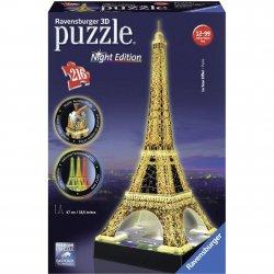 Dėlionė 216d. Eiffel Tower-Night