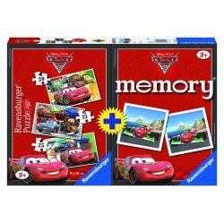 Dėlionė ir memory žaidimas cars