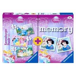 Dėlionė ir memory žaidimas princesė