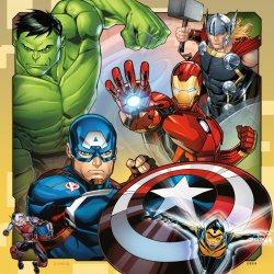 Dėlionė Marvel Avengers 3x49vnt