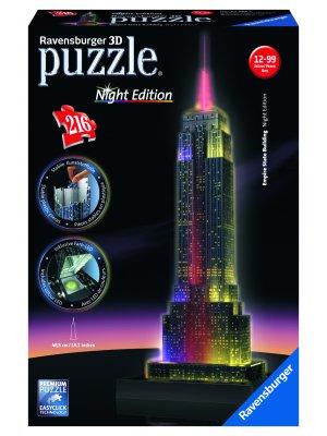 Dėlionė - pastatas Empire State Building 216d.