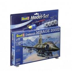 Klijuojamas modelis lėktuvas Mirage 2000D