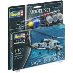 Modelis Model Set SH-60 Navy Helicopter