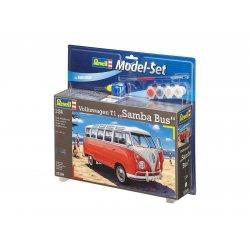 Sudedamas modelis VW T1 Samba Bus