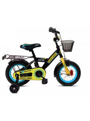 Road HERO juodas mėlynas dviratis berniukui 12