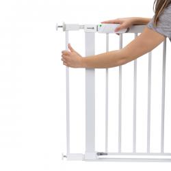 Safety 1ST saugos vartelių praplatinimas Easy Close cm White Metal