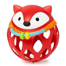 Skip HOP Lavinamasis žaislas Barškutis - kamuoliukas Lapė