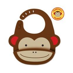 Skip HOP seilinukas silikoninis 6m+ Zoo Fold & Go Monkey