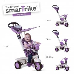 Smart TRIKE triratukas violetinis Dream