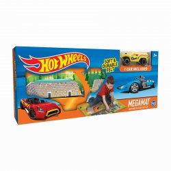 Žaidimo kilimėlis su mašinėle Hot Wheels Felt