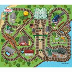 Žaidimo kilimėlis su mašinėle Thomas & Friends Felt