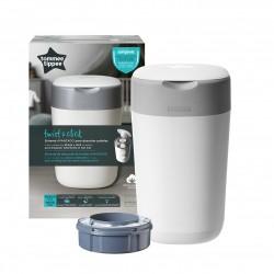 Tommee TIPPEE konteineris sauskelnėms Sangenic Twist&Click baltas