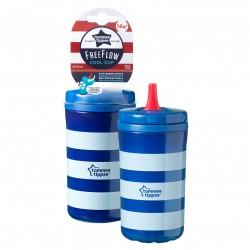 Tommee TIPPEE puodelis Cool Cup su nulenkiamu snapeliu 380ml 18m+