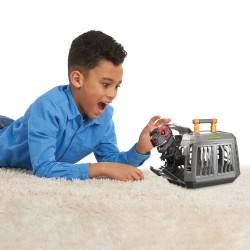 Interaktyvus elektroninis žaislas T-Rex rinkinys su narvu