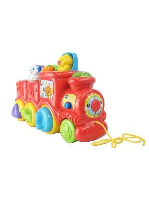 Edukacinis žaislas Draugų traukinukas 80-151103
