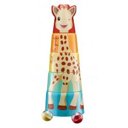 Sophie la girafe žaislas 10m+ Sophie's Giant Tower