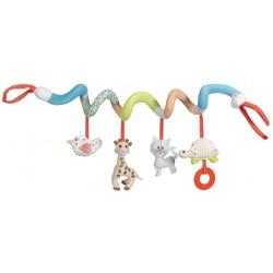 Sophie la girafe žaislas autokėdutei vežimėliui lovytei3m+ 230765F