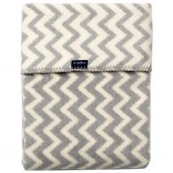 Pledas Grey&White Zigzag 75x100cm