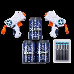 Žaislinių šautuvų rinkinys Double Micro