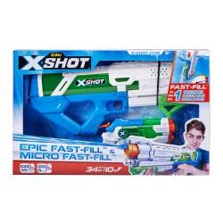 Žaislinių vandens šautuvų rinkinys Epic Fast-Fill ir Micro Fast-Fill