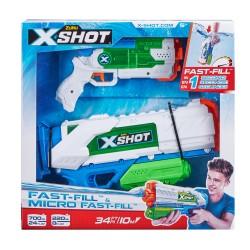Žaislinių vandens šautuvų rinkinys Fast- Fill ir Micro Fast-Fill