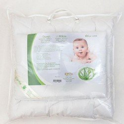 """Patalynės komplektas kūdikiui """"Aloe vera"""""""