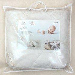 Antklodė kūdikiui su vilnos užpildu