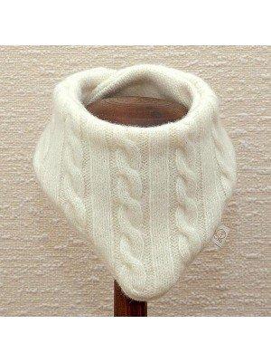Merino vilnos kaklaskarė-šalikėlis