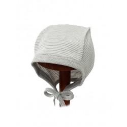 """Kepurė """"MOMO"""" išvirkščiomis siūlėmis, medvilnė"""