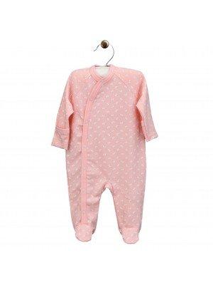 """Kombinezonas kūdikiui """"Lucky"""", rožinis, medvilnė"""