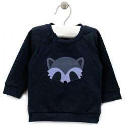 """Mėlynas džemperis """"Benny"""" stora medvilnė"""